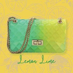 Lemon Lime Jelly Shoulder Bag